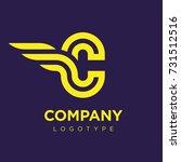 vector graphic elegant logotype ...   Shutterstock .eps vector #731512516