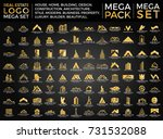 mega set and big group  real... | Shutterstock .eps vector #731532088