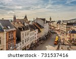 trier  rhineland palatinate ... | Shutterstock . vector #731537416