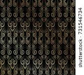 endless texture. luxury design... | Shutterstock .eps vector #731546734