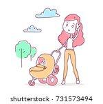 vector illustration of... | Shutterstock .eps vector #731573494