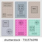collection of sale banners ... | Shutterstock .eps vector #731576398