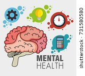 mental health concept day | Shutterstock .eps vector #731580580