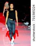 fashion models represent... | Shutterstock . vector #731585224