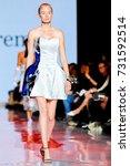 fashion models represent... | Shutterstock . vector #731592514