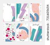 hand drawn creative universal...   Shutterstock .eps vector #731605654