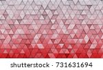 white red gradient triangles... | Shutterstock . vector #731631694