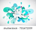 abstract colored background...   Shutterstock .eps vector #731672359