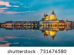 italy beauty  mirrored... | Shutterstock . vector #731676580
