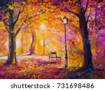 Original Oil Painting On Canvas....