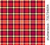 seamless tartan vector pattern | Shutterstock .eps vector #731734054