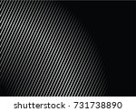 minimal grey scale a4 cover... | Shutterstock .eps vector #731738890