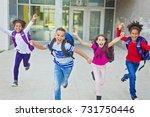 the great portrait of school... | Shutterstock . vector #731750446