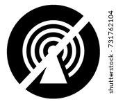 ui glyph circle  icon no hotspot | Shutterstock .eps vector #731762104