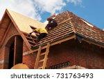 Roofing Contractors Installing...