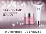 a beautiful cosmetic ads ... | Shutterstock .eps vector #731780263