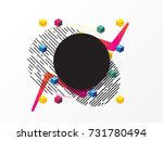 colorful abstract background ...   Shutterstock .eps vector #731780494