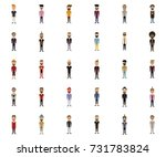 hipster style man  character... | Shutterstock .eps vector #731783824