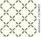 lattice background. arabesque... | Shutterstock .eps vector #731788453