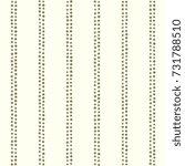 dot stripes background. double... | Shutterstock .eps vector #731788510