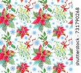 seamless watercolor pattern... | Shutterstock . vector #731790268