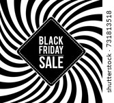 creative black friday sale... | Shutterstock .eps vector #731813518