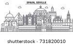 spain  seville architecture...