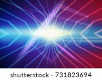 abstract background made in 80s ... | Shutterstock .eps vector #731823694
