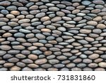 River Pebble Wall Background ...