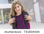 the great portrait of school... | Shutterstock . vector #731834434
