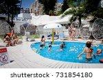odessa  ukraine may 24  2014 ... | Shutterstock . vector #731854180
