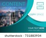 presentation layout design... | Shutterstock .eps vector #731883934