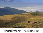 mt washington  nh  usa   oct 12 ... | Shutterstock . vector #731886340