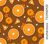 vector seamless pattern with... | Shutterstock .eps vector #731900920