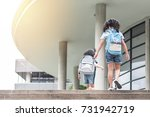 back to school education... | Shutterstock . vector #731942719