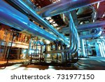 industrial zone  steel... | Shutterstock . vector #731977150
