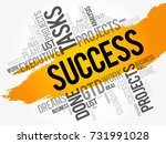 success word cloud collage ... | Shutterstock .eps vector #731991028