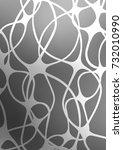 light silver  gray abstract... | Shutterstock . vector #732010990