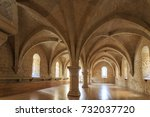 september 2017. spain poblet... | Shutterstock . vector #732037720