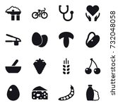 16 Vector Icon Set   Factory...