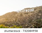 los angeles  usa   august 20 ... | Shutterstock . vector #732084958