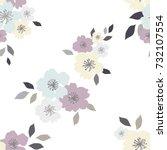 seamless pattern of  flower....   Shutterstock .eps vector #732107554