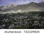 july 2017   leh ladakh   new...   Shutterstock . vector #732109834
