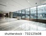 luxury lobby interior.   Shutterstock . vector #732125608