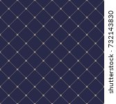 geometric dotted vector navy... | Shutterstock .eps vector #732143830