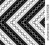 design seamless monochrome...   Shutterstock .eps vector #732145528