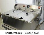 clean deep fryer | Shutterstock . vector #73214560