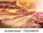 travel and adventures through...   Shutterstock . vector #732148654