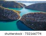 horizontal falls  talbot bay ... | Shutterstock . vector #732166774