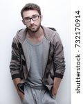success man on white background | Shutterstock . vector #732170914